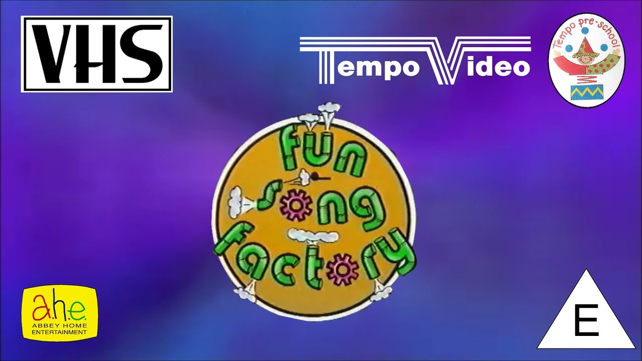 opening to fun song factory uk vhs 1996 youtube