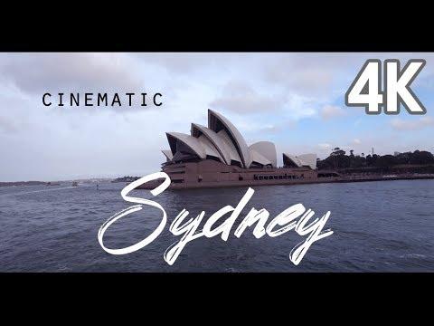 【4K UHD AUSTRALIA TRAVEL GUIDE】 Sydney Cinematic 4K Video シドニー 悉尼