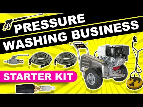 PRESSURE WASHING BUSINESS STARTER KIT: THE ONE THING YOU NEED