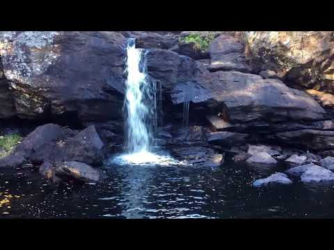 Beautiful Place #80 Chapman Falls Devil's Hopyard State Park Connecticut RV Lifestyle
