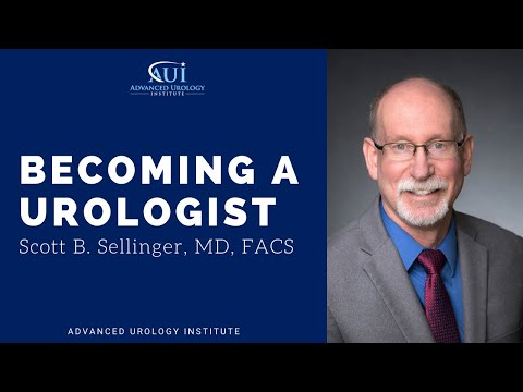 Becoming a Urologist - Dr Scott B. Sellinger