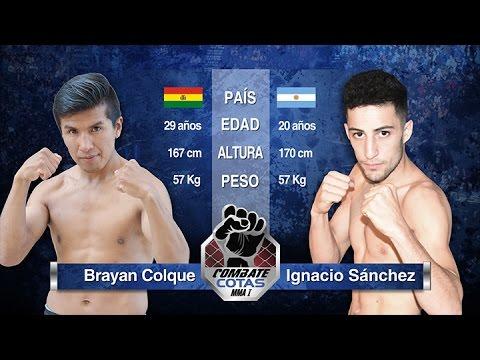 Brayan Colque vs Ignacio Sanchez