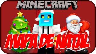Minecraft -  MAPA DE NATAL!