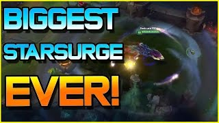 AURELION SOL - BIGGEST STARSURGE EVER | League of Legends
