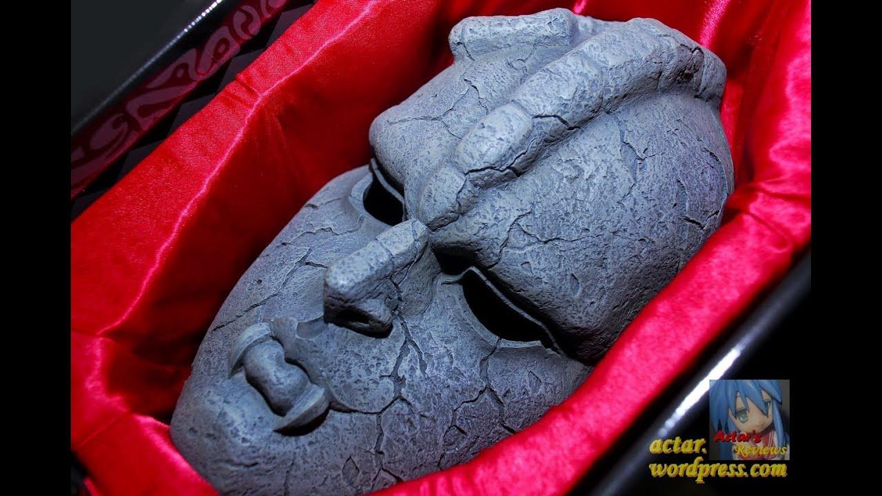 arr - medicos jojo u0026 39 s bizarre adventure stone mask  ishi kamen  replica review