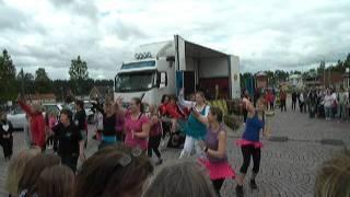 Latin Dance Zumba style uppvisning 1