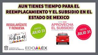 Nuevamente Se Extiende El Subsidio A La Tenencia Y El Reemplacamiento En El Edomex