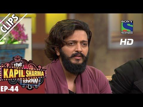 Ritesh Deshmukh discuss the care of Babies  - The Kapil Sharma Show - Ep.44-18th September 2016