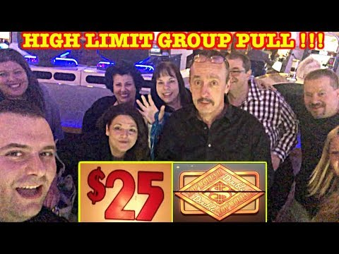 ★ HIGH LIMIT GROUP PULL ★ $25 DENOM ★ DOUBLE TOP DOLLAR ★ WHEEL OF FORTUNE ★