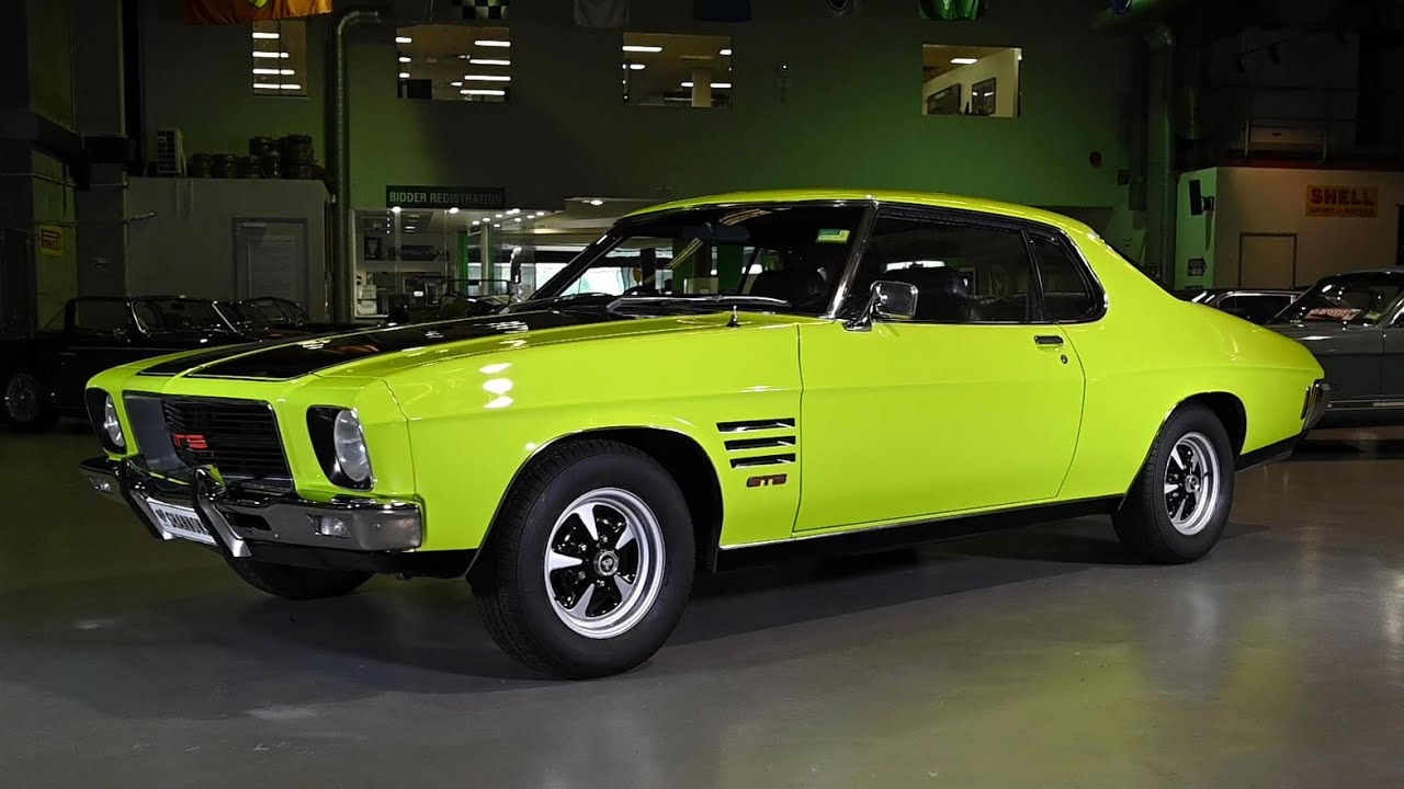 1972 Holden HQ GTS Monaro 308 Coupe - 2019 Shannons Sydney Late Autumn Classic Auction