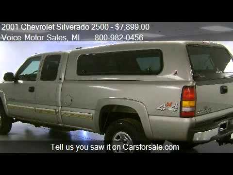 2001 chevrolet silverado 2500 ls 4x4 for sale in for Voice motors kalkaska michigan