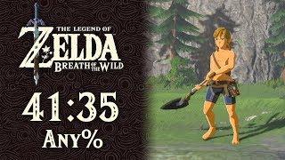 Any% (No Amiibo) Speedrun in 41:35 | The Legend of Zelda: Breath of the Wild