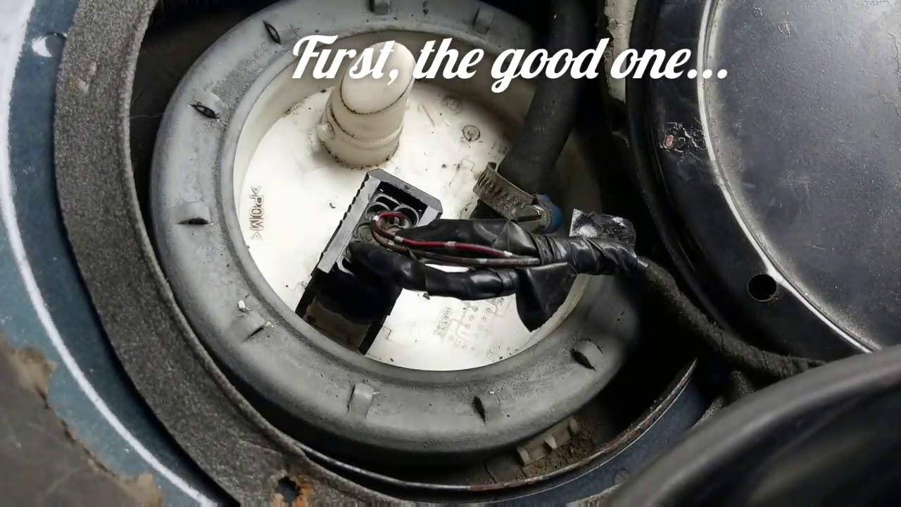 good vs bad fuel pump bmw e39 touring  [ 1280 x 720 Pixel ]