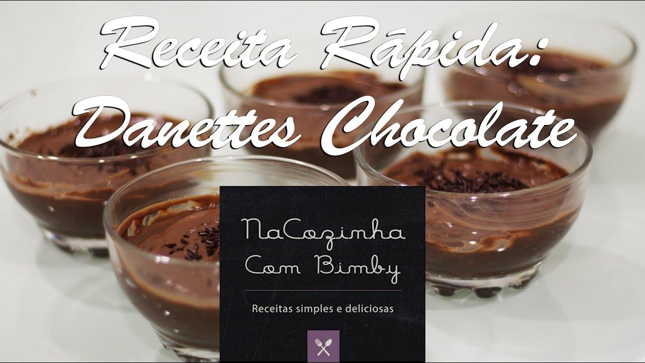 Danettes de Chocolate - Na Cozinha com Bimby - Bimby Videos
