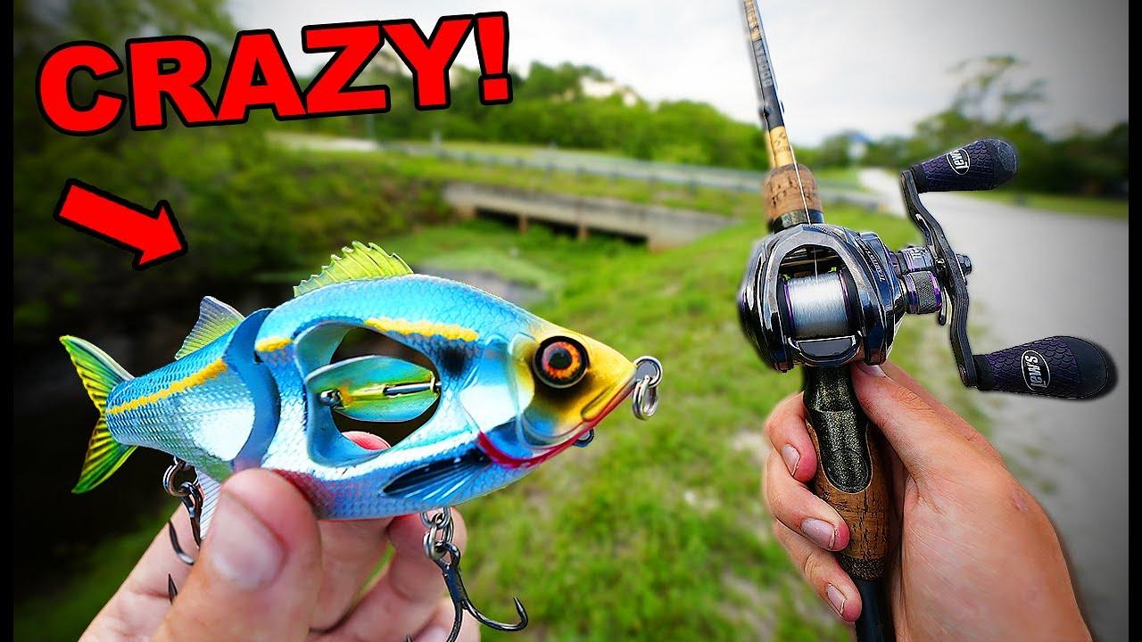 World's Craziest BIG SWIMBAIT Fishing Challenge (INSANE!)