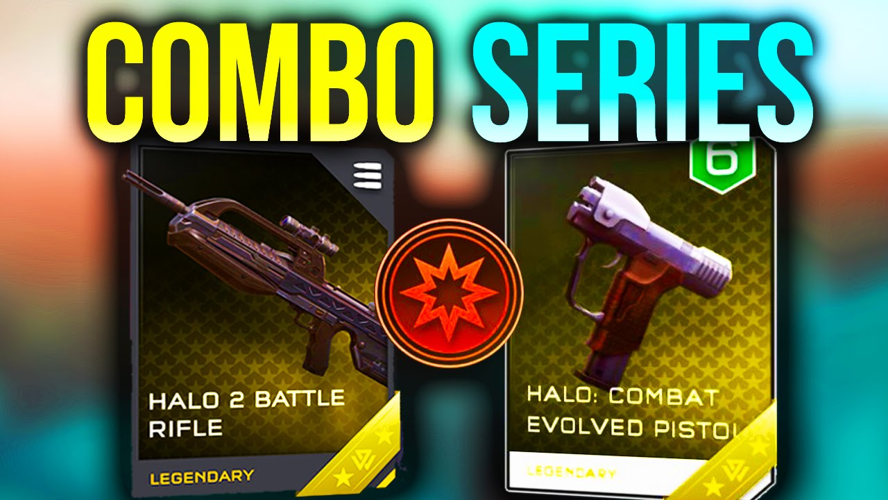 Halo 2 Br Ce Magnum Damage Boost Combo Series Halo 5 Guardians Youtube