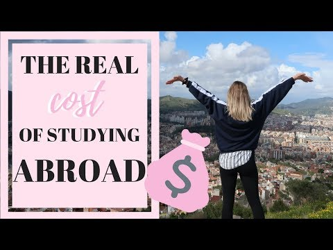 HOW TO ACTUALLY AFFORD STUDY ABROAD & THE REAL COST