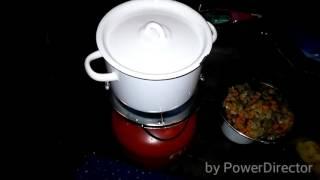 Готовим суп из горбуши в походных условиях.