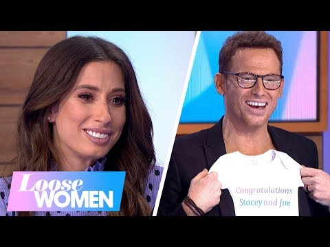 Elated Stacey Solomon and Joe Swash Celebrate Their Baby News | Loose Women