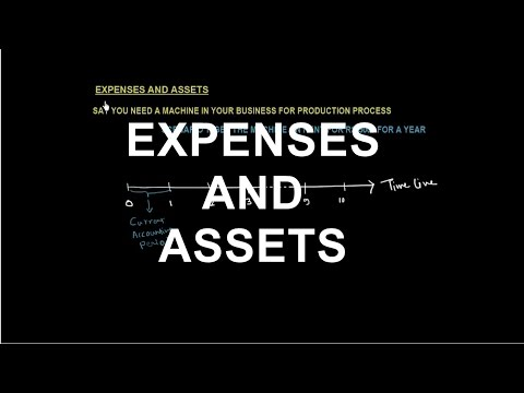 ACCOUNTING CONCEPTS | EXPENSES AND ASSETS | Meaning and Difference