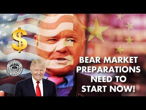 MARC FABER: Make Bear Market Preparations - DELUGE AHEAD!