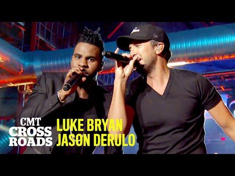 Jason Derulo & Luke Bryan Perform 'Country Girl (Shake It For Me)' | CMT Crossroads