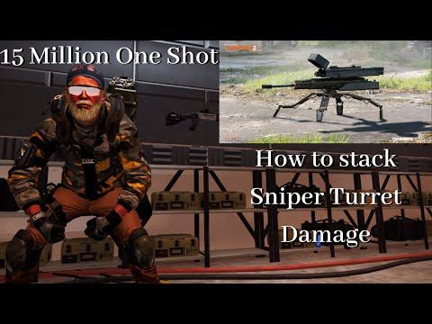 Division 2: Sniper Turret 15 Million One Shot