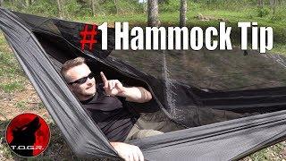 My Favorite Hammock Tip that Everyone Should Do