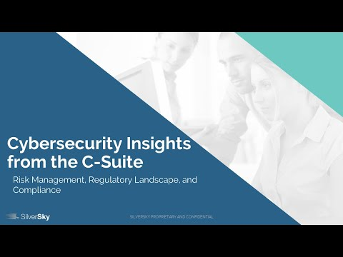 [Webinar] Cybersecurity Insights from the C-Suite - Tara and Miguel