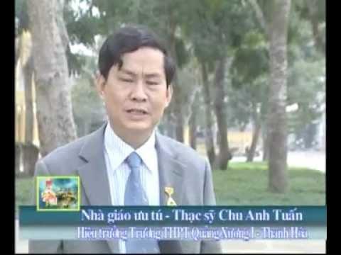 NGƯT Chu Anh Tuấn - hiệu trưởng THPT Quảng Xương I