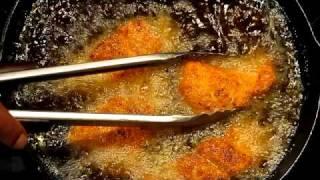 Chef Emanuel's Crispy Lemon Pepper Catfish Video Part 2.avi