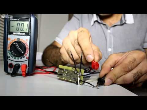 High Voltage AC/DC Effect on Human Body