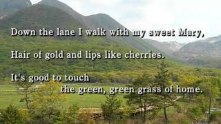 "Tom Jones ""Green Green Grass of Home"" with lyrics 66年全英1位とな..."