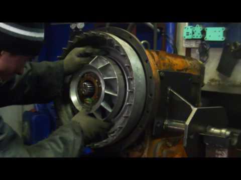 Установка и регулировка ГТД (гидротрансформатора)