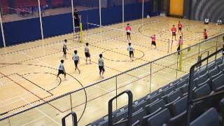 大嶼山小學校際男排賽2013 - 秀德 對 溫浩根 (set