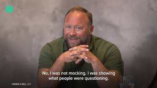 Alex Jones' Deposition On Sandy Hook Shooting