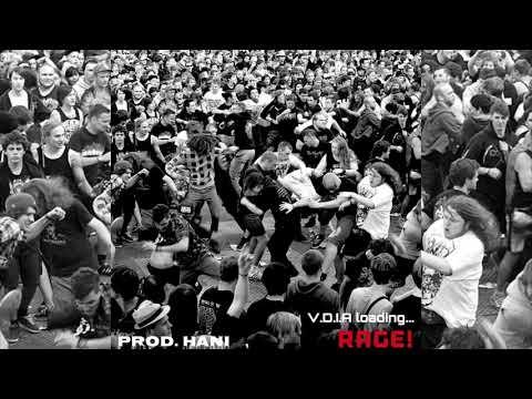 DarkKnight47 - RAGE! (Prod. HANISLIP) (Audio)