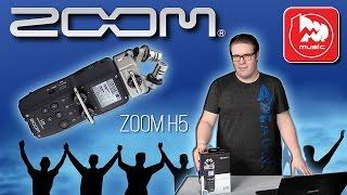 ZOOM H5 - Портастудия, цифровой диктофон