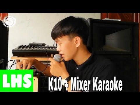 LHS | Hướng Dẫn Lắp Đặt Soundcard XOX K10 Vào Mixer Karaoke Gia Đình | KTV Hoàng Tú | 0989737960