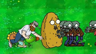 Dhannu's PLANTS vs ZOMBIES - Episode 14 - Zombies Attack Part II Animation!