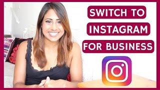 كيفية إنشاء Instagram حساب الأعمال من الصفحة الشخصية & لماذا يجب أن نفعل ذلك ؟ فينا V