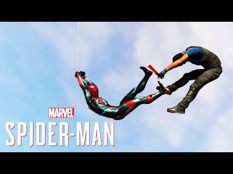 Spider-Man PS4 Sable Agent Suit, New DLC Teaser & Awkward Glitch...