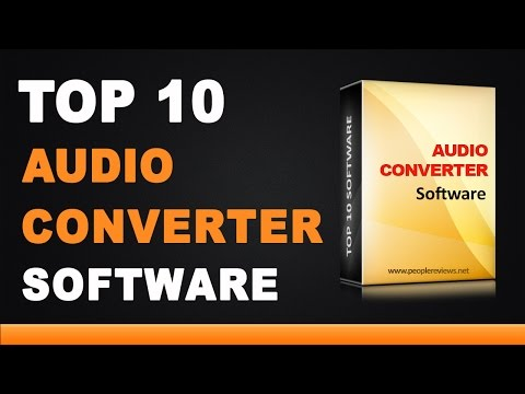 Best Audio Converter Software - Top 10 List