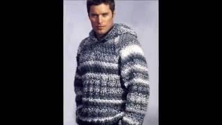 Вязание Джемпера Спицами для Мужчин - модели 2019 / Knitting Spokes Sweaters For Men / Pullover