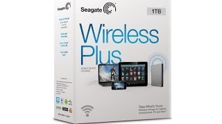 Official Seagate Wireless Plus video
