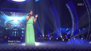 소향 So Hyang   The Power Of Love Celine Dion @ 열린음악회 2014 08 24
