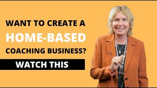 How to Create a Thriving Home-based Coaching Business |  #StrongerTogether | Sharon Pearson