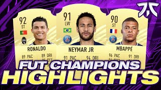 HOW I GOT 1ST IN THE WORLD! MY FUT CHAMPIONS HIGHLIGHTS! #FIFA21 Ultimate Team