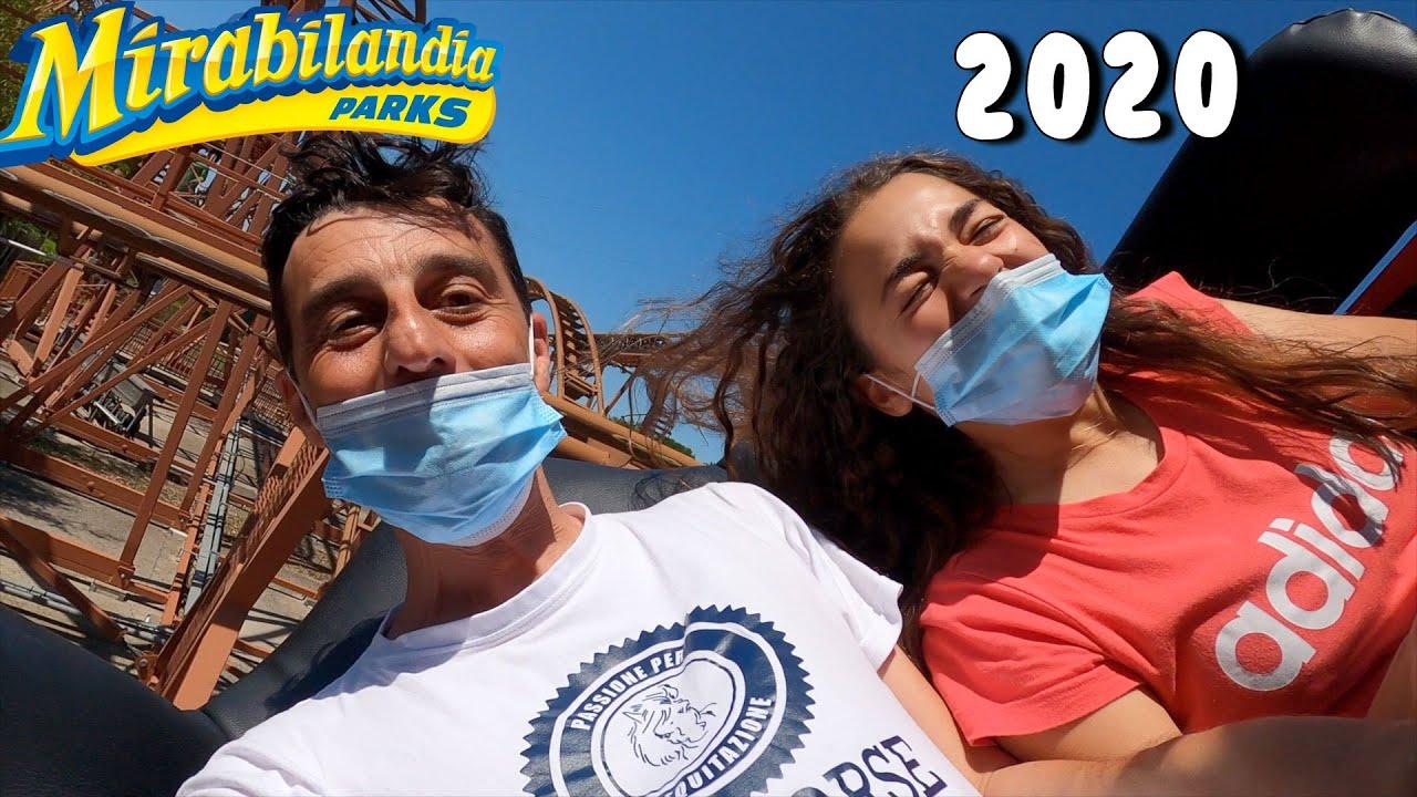 MIRABILANDIA 2020 - IO E PAPÁ BAGNATI COMPLETAMENTE!!