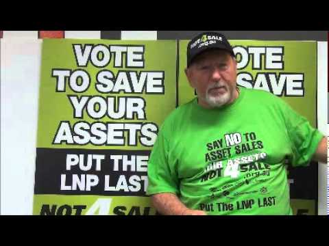 Tony Barry talks to Not4Sale supporters Jan 2015